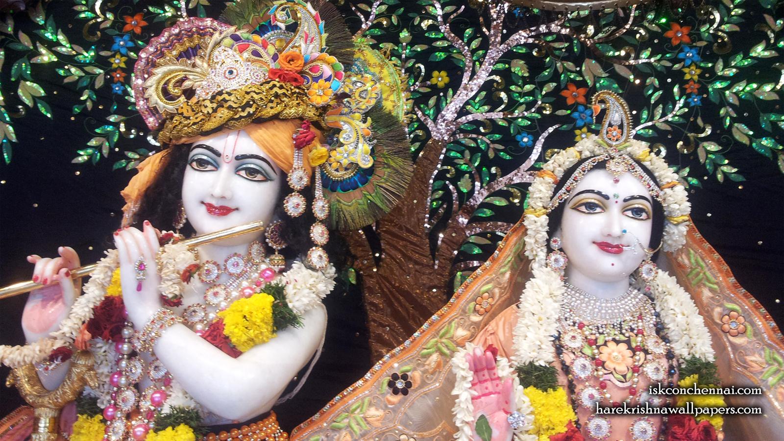 Sri Sri Radha Krishna Close up Wallpaper (008) Size 1600x900 Download