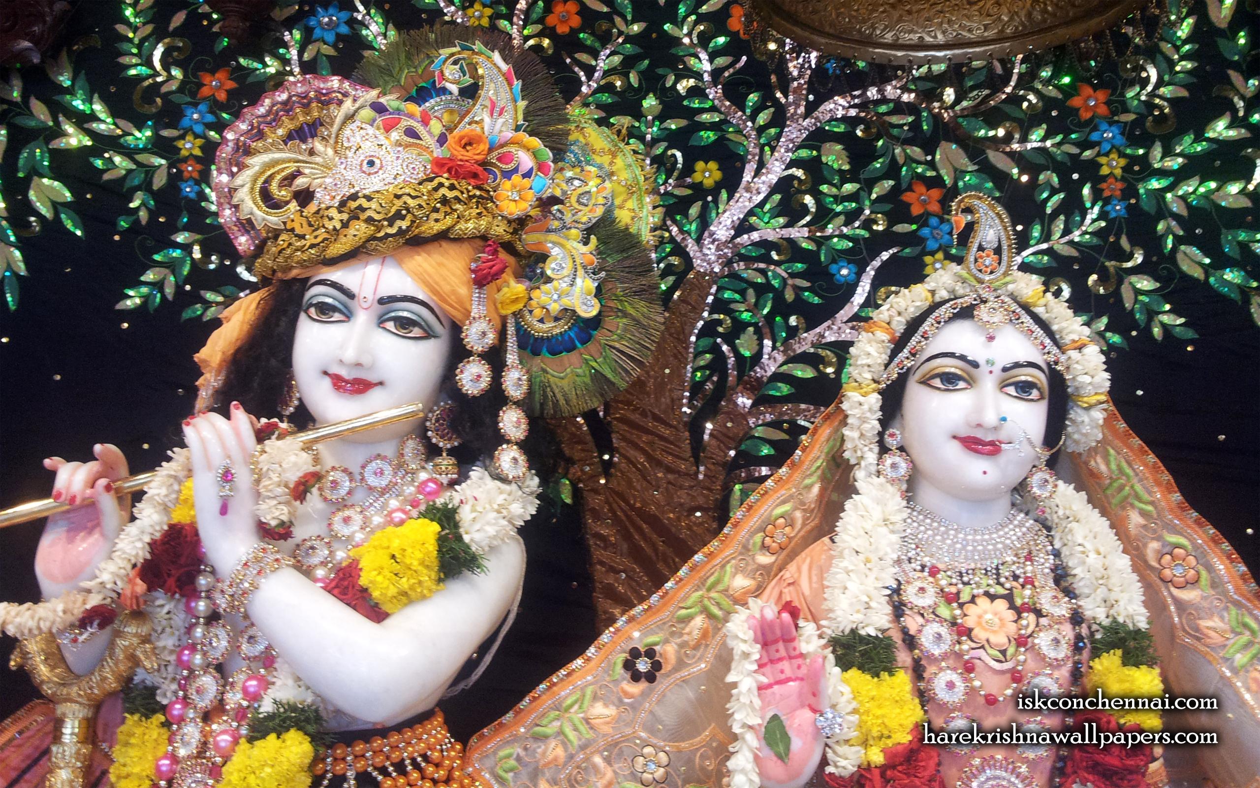 Sri Sri Radha Krishna Close up Wallpaper (008) Size 2560x1600 Download