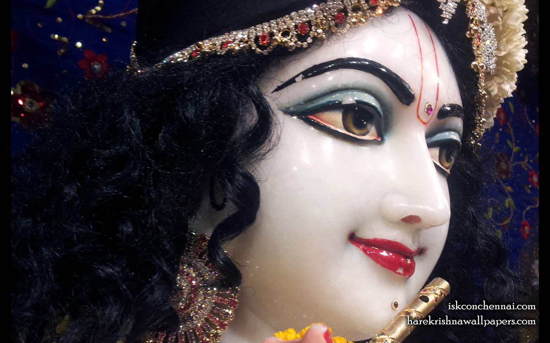 Sri Krishna Close up Wallpaper (009) Size 1440x900 Download