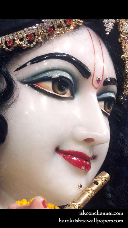 Sri Krishna Close up Wallpaper (009) Size 450x800 Download