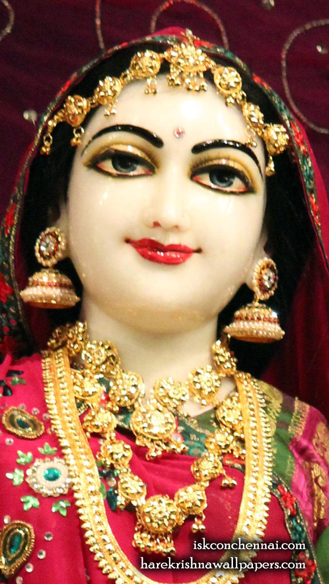 Sri Radha Close up Wallpaper (009) Size 675x1200 Download