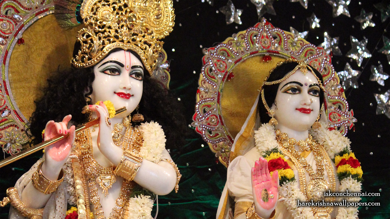 Sri Sri Radha Krishna Close up Wallpaper (009) Size 1280x720 Download