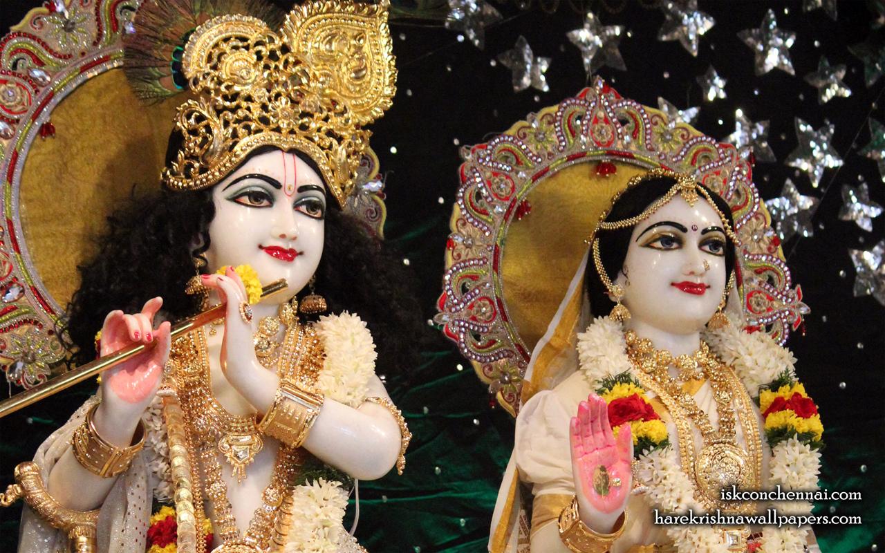 Sri Sri Radha Krishna Close up Wallpaper (009) Size 1280x800 Download