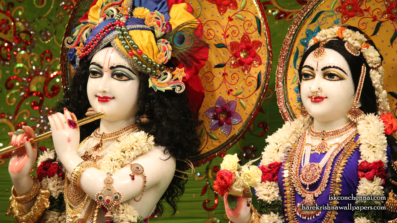 Sri Sri Radha Krishna Close up Wallpaper (011) Size 1280x720 Download