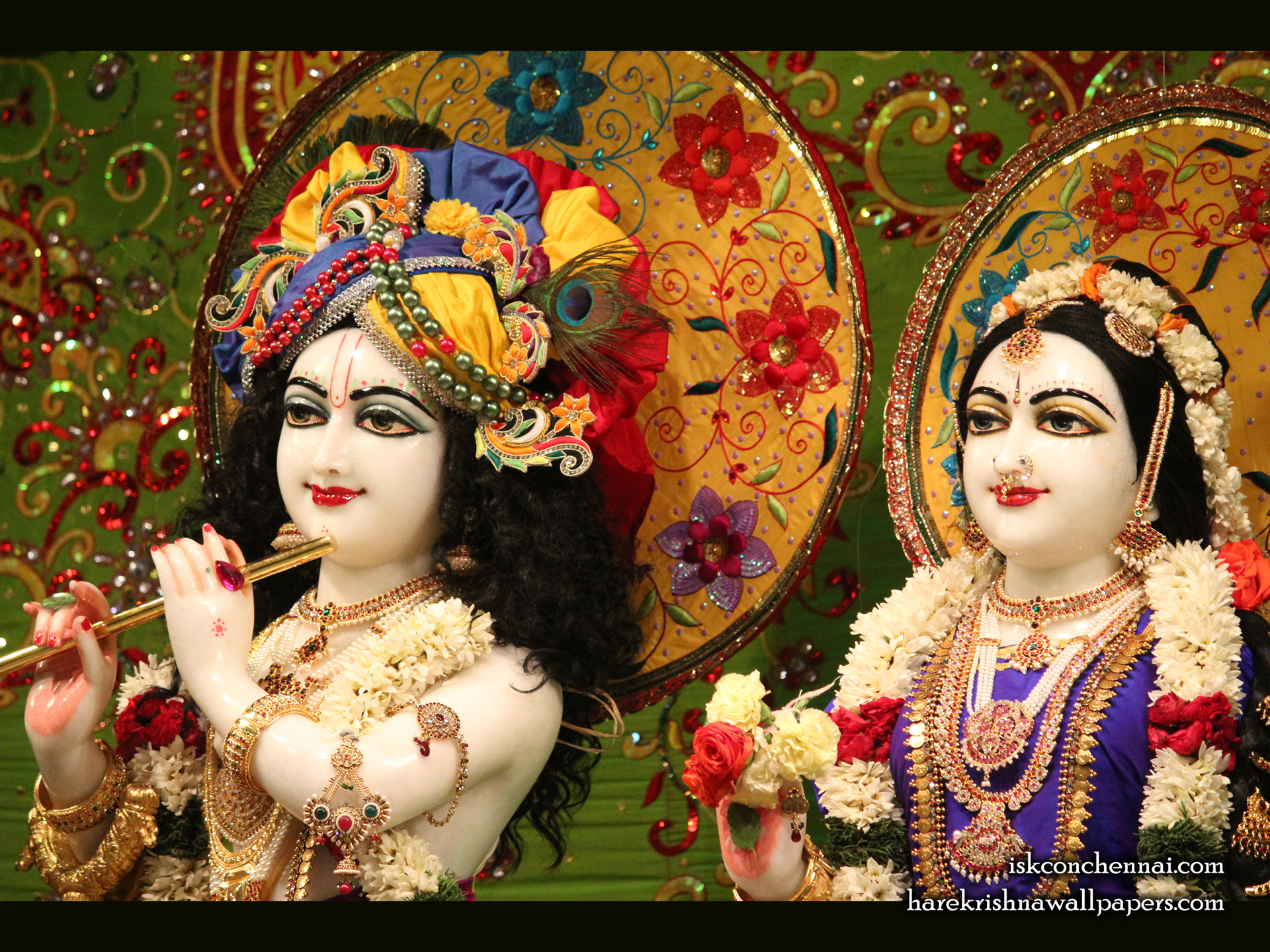 Sri Sri Radha Krishna Close up Wallpaper (011) Size 1920x1440 Download