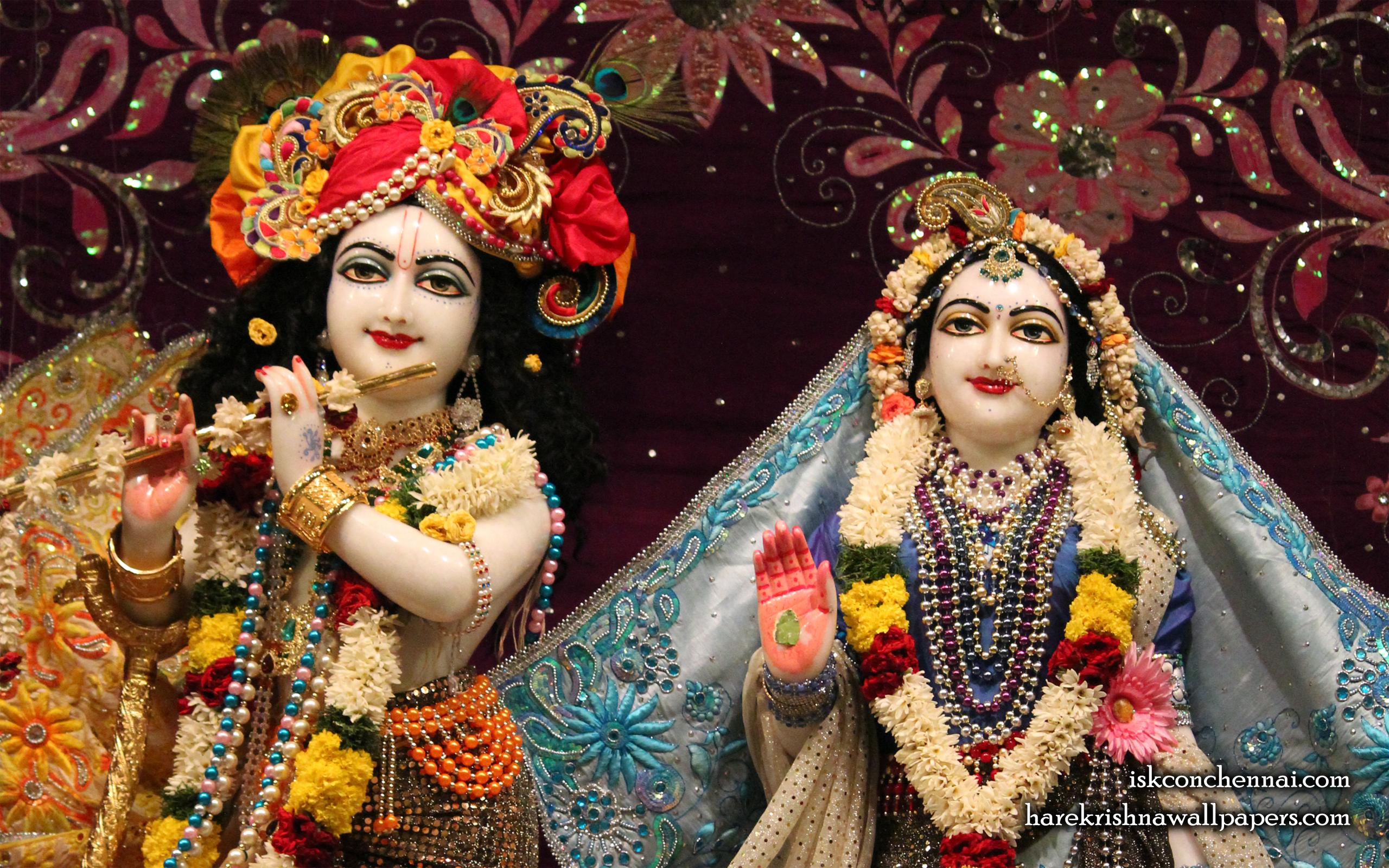 Sri Sri Radha Krishna Close up Wallpaper (012) Size 2560x1600 Download