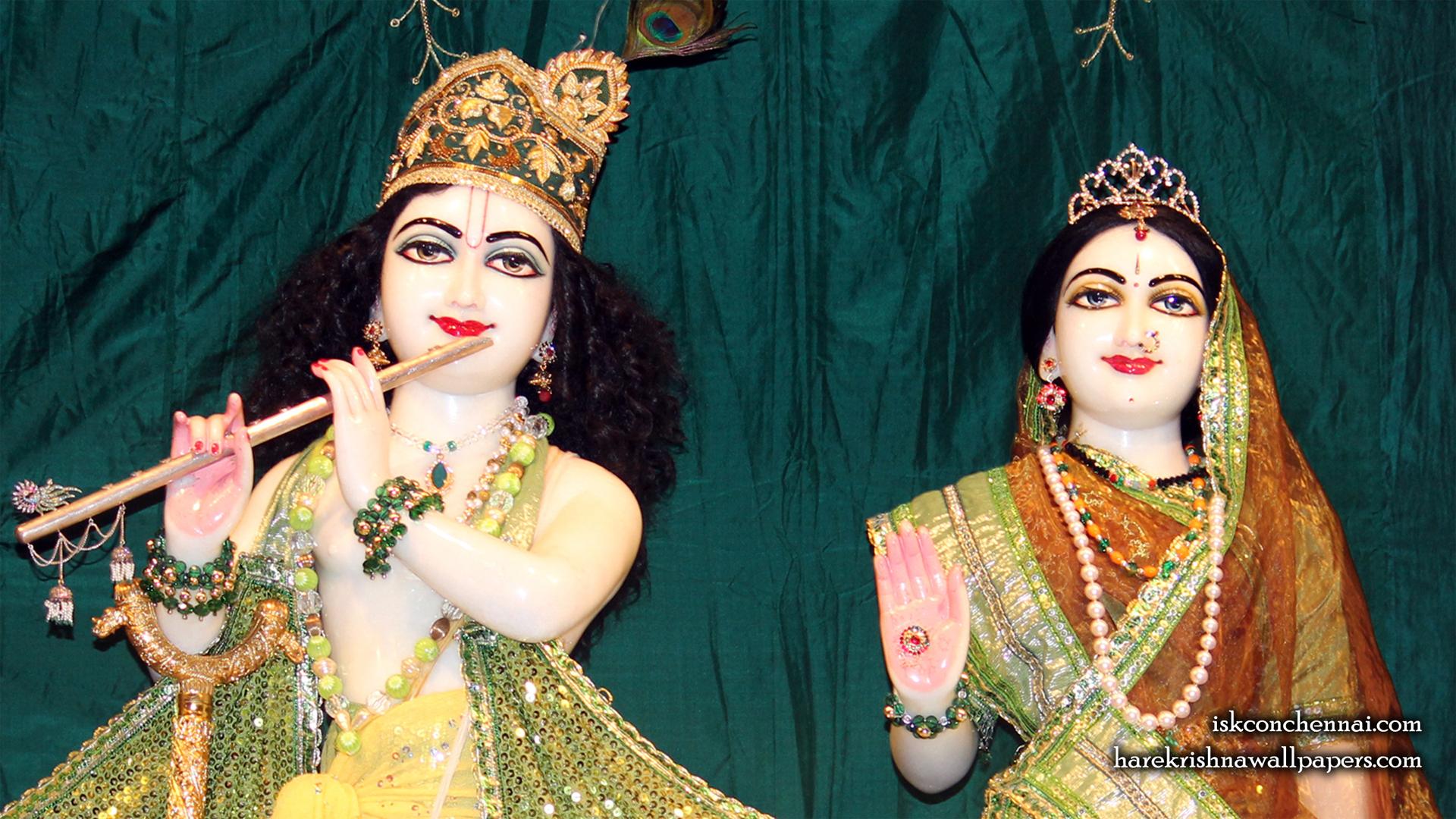 Sri Sri Radha Krishna Close up Wallpaper (013) Size 1920x1080 Download