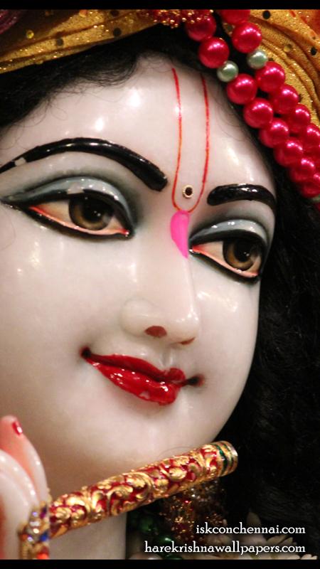 Sri Krishna Close up Wallpaper (015) Size 450x800 Download