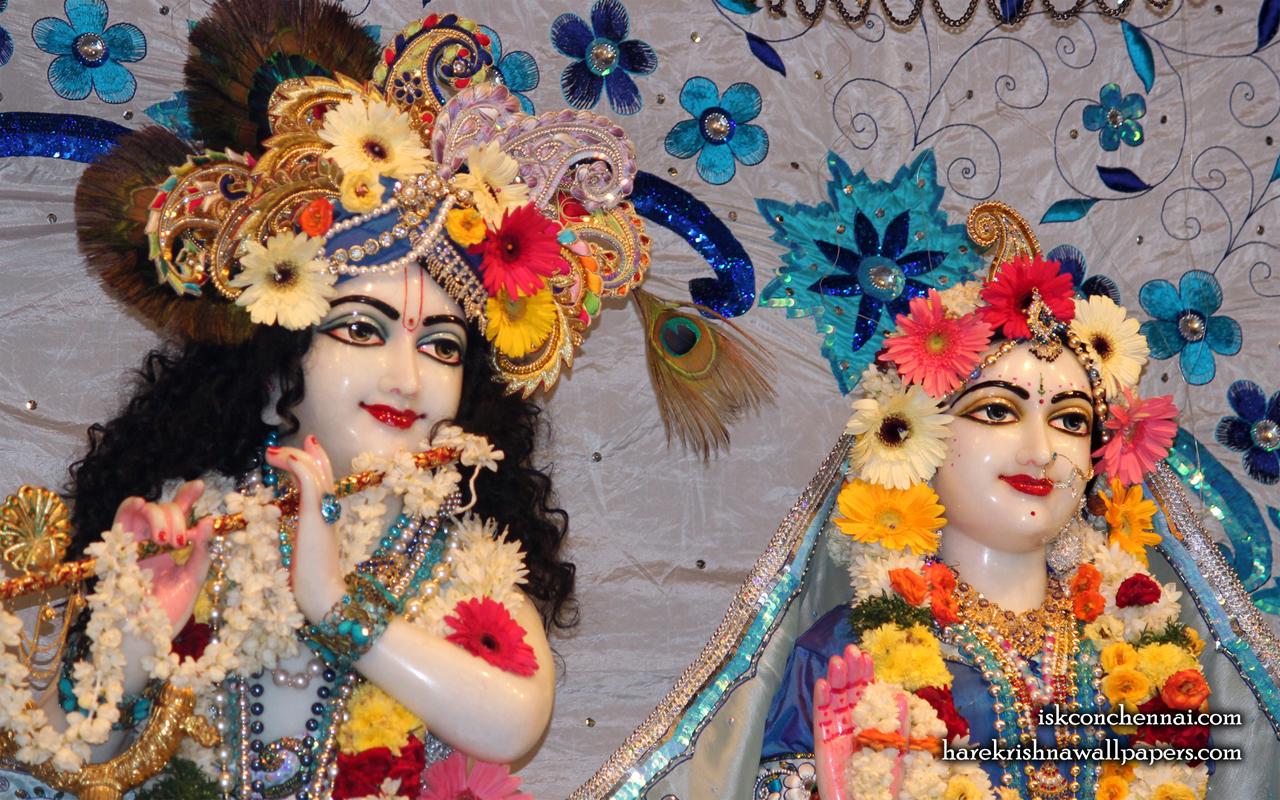 Sri Sri Radha Krishna Close up Wallpaper (016) Size 1280x800 Download
