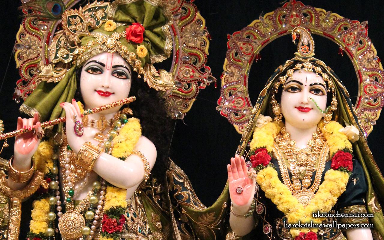 Sri Sri Radha Krishna Close up Wallpaper (017) Size 1280x800 Download
