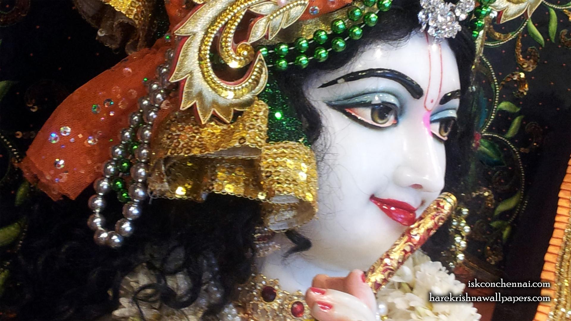 Sri Krishna Close up Wallpaper (020) Size 1920x1080 Download