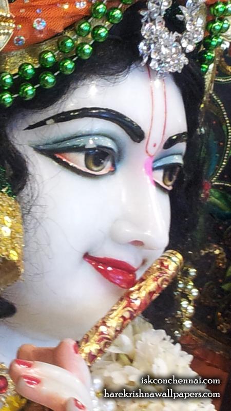 Sri Krishna Close up Wallpaper (020) Size 450x800 Download