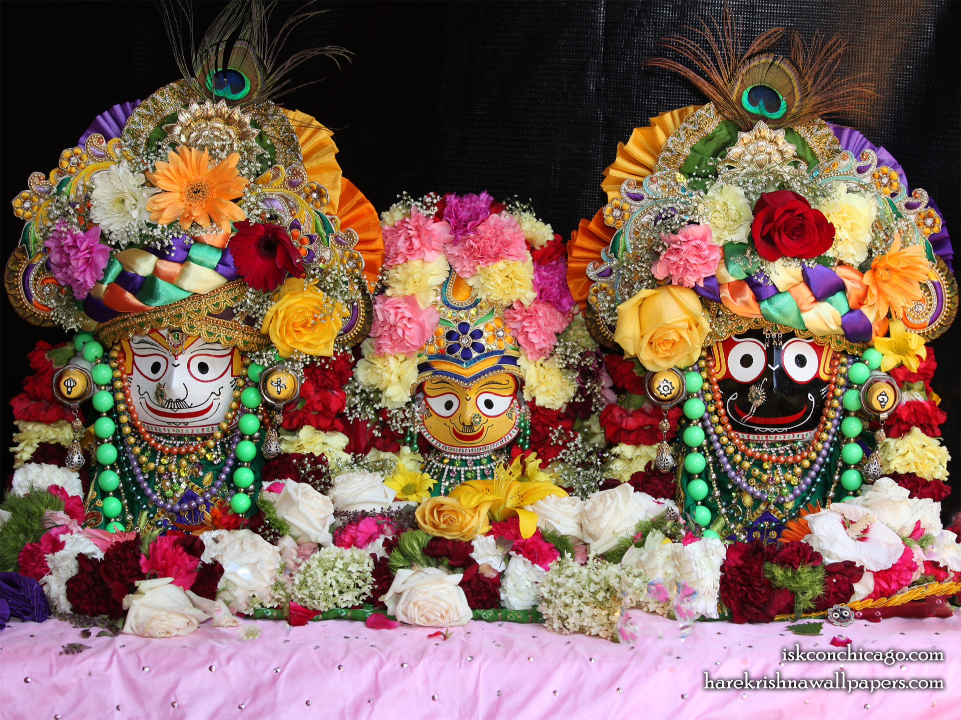 Jagannath Baladeva Subhadra Wallpaper (001) Size 1920x1440 Download