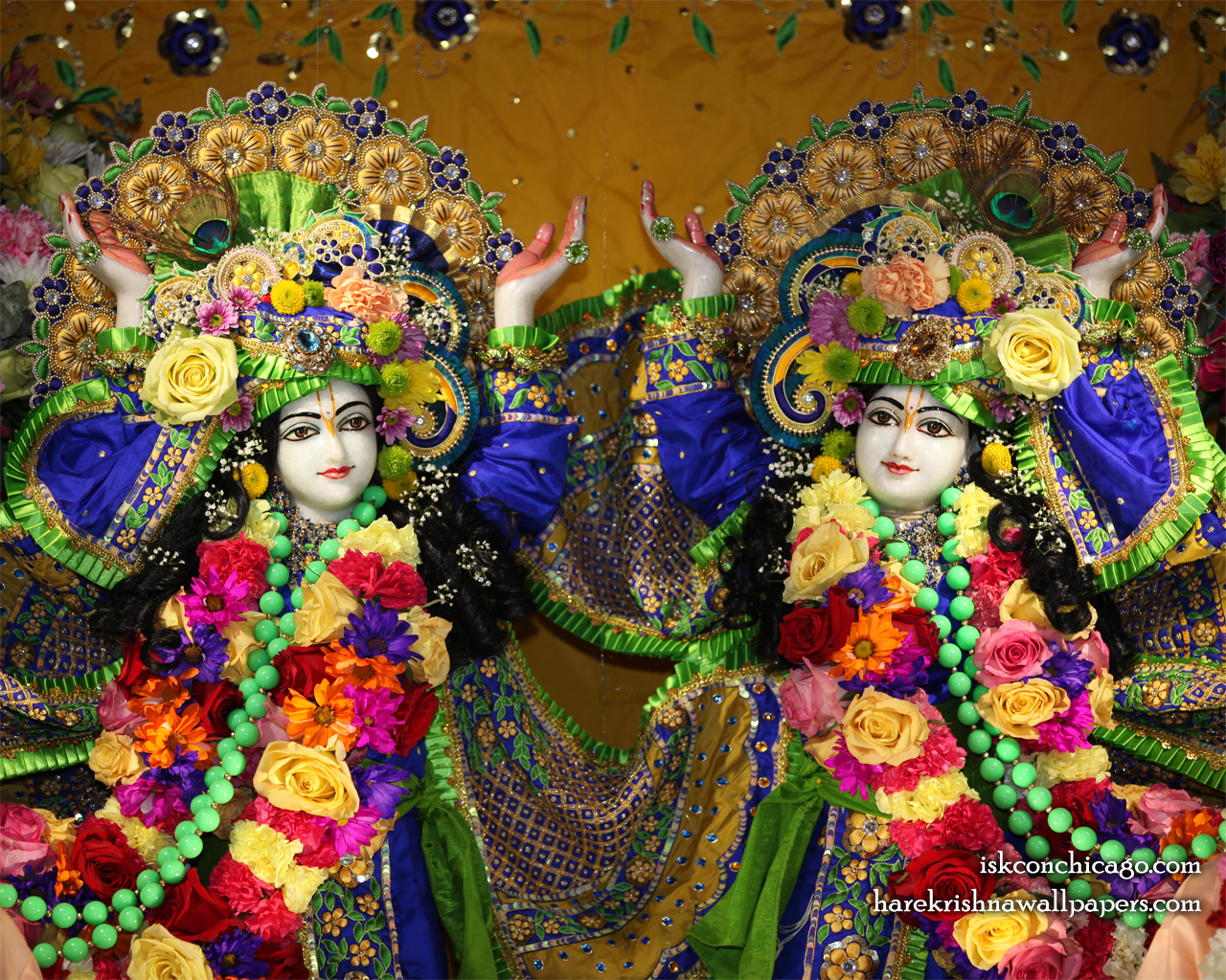 Sri Sri Gaura Nitai Close up Wallpaper (001) Size 1280x1024 Download