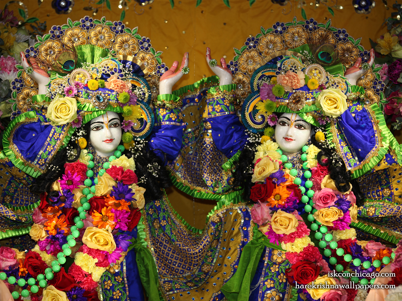 Sri Sri Gaura Nitai Close up Wallpaper (001) Size 1400x1050 Download