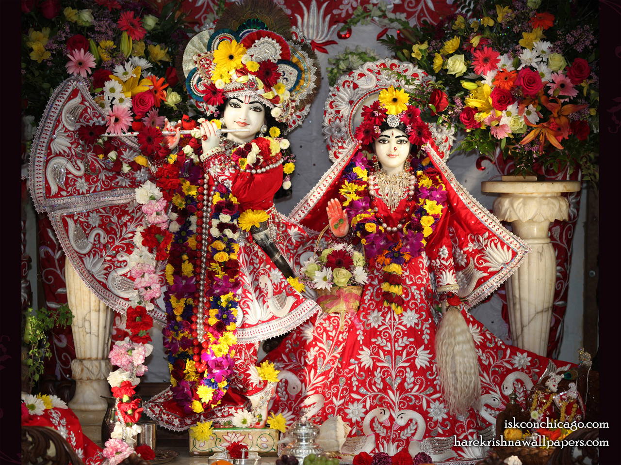 Sri Sri Kishore Kishori Wallpaper (001) Size 1280x960 Download