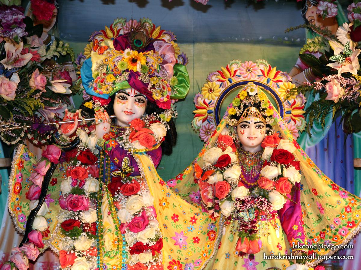 Sri Sri Kishore Kishori Close up Wallpaper (001) Size 1200x900 Download