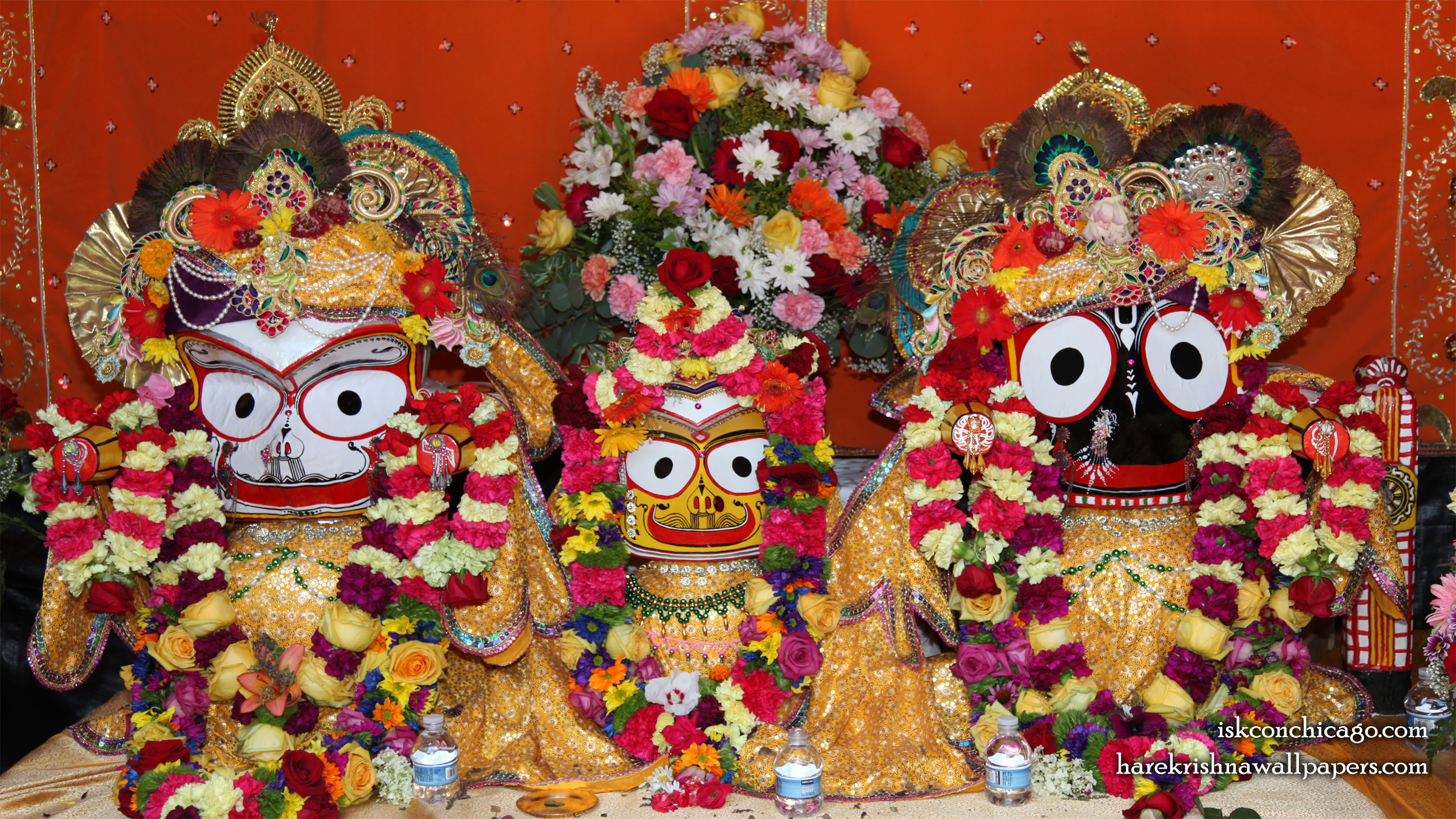 Jagannath Baladeva Subhadra Wallpaper (002) Size 2400x1350 Download