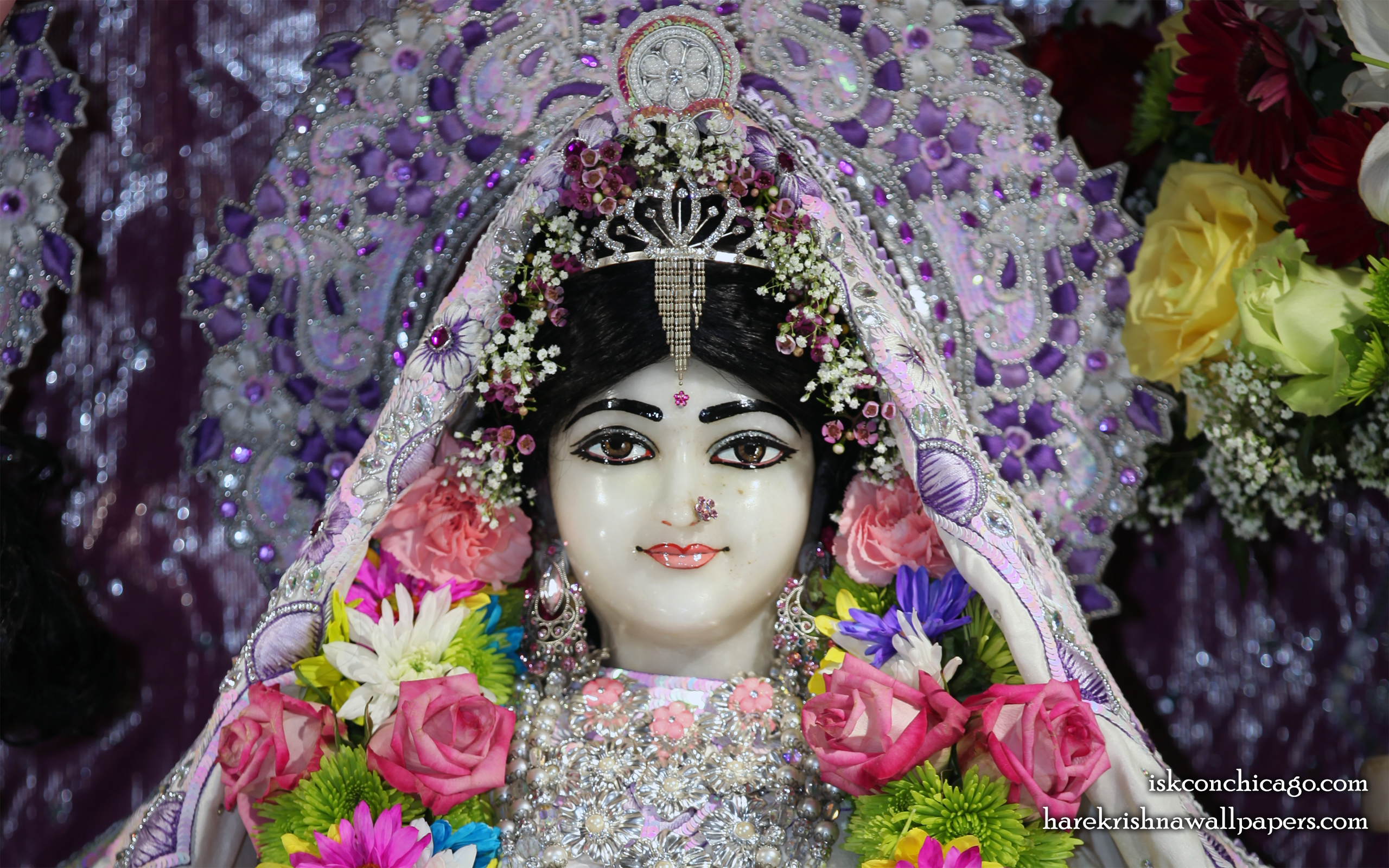 Sri Kishori Close up Wallpaper (002) Size 2560x1600 Download
