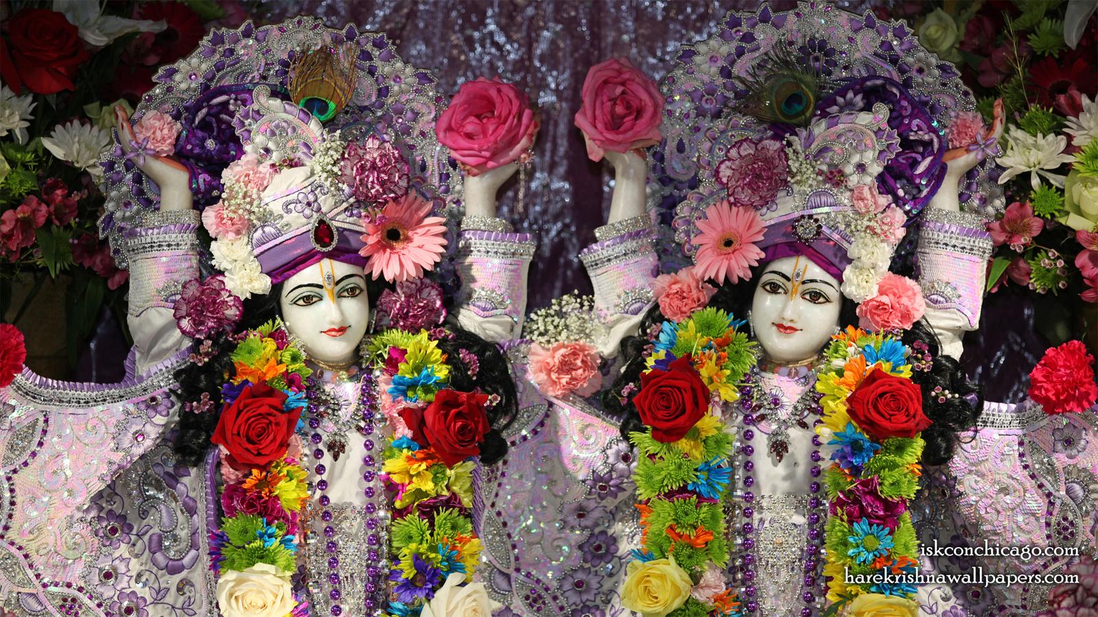 Sri Sri Gaura Nitai Close up Wallpaper (002) Size 1600x900 Download