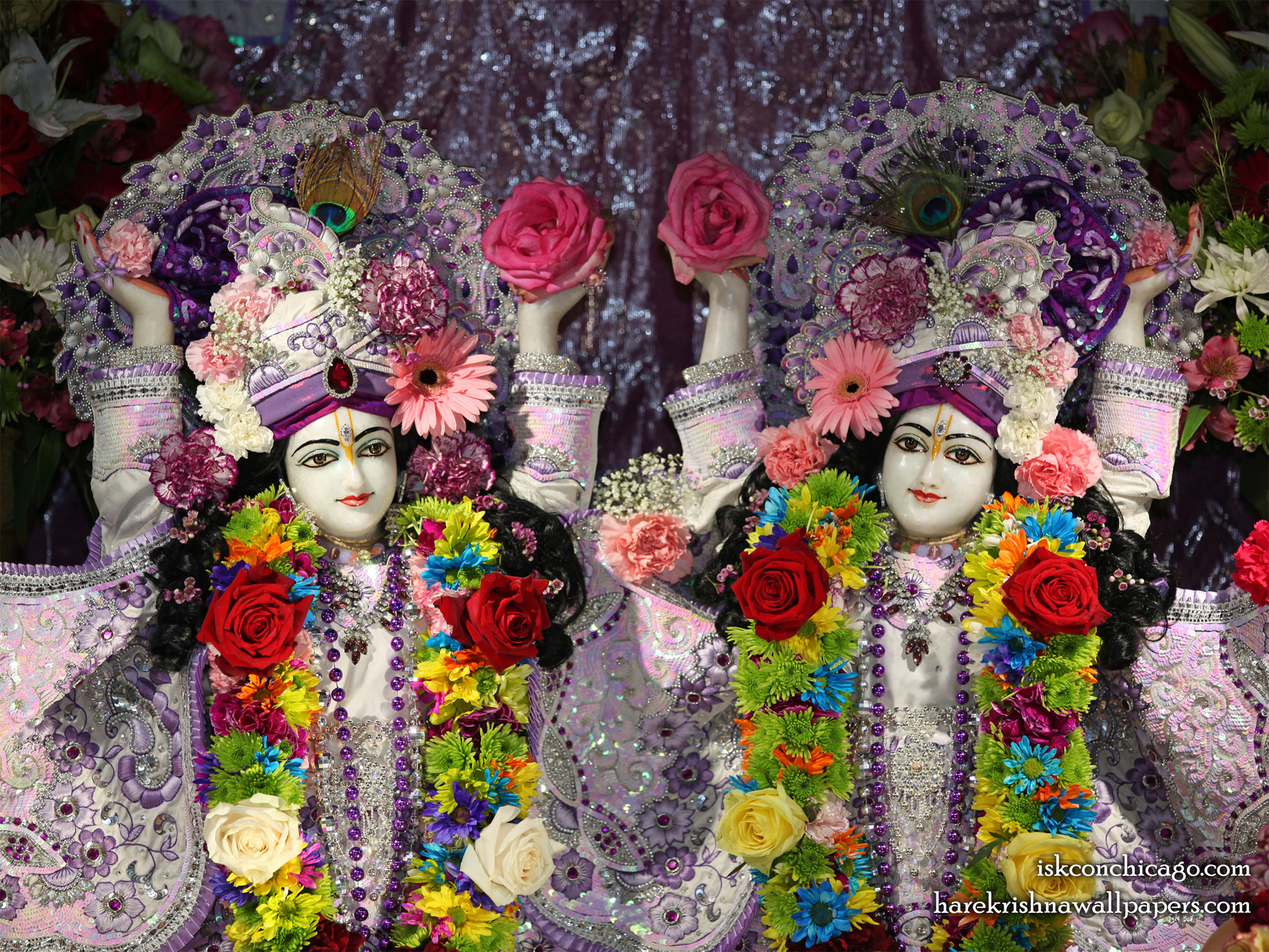 Sri Sri Gaura Nitai Close up Wallpaper (002) Size 1920x1440 Download