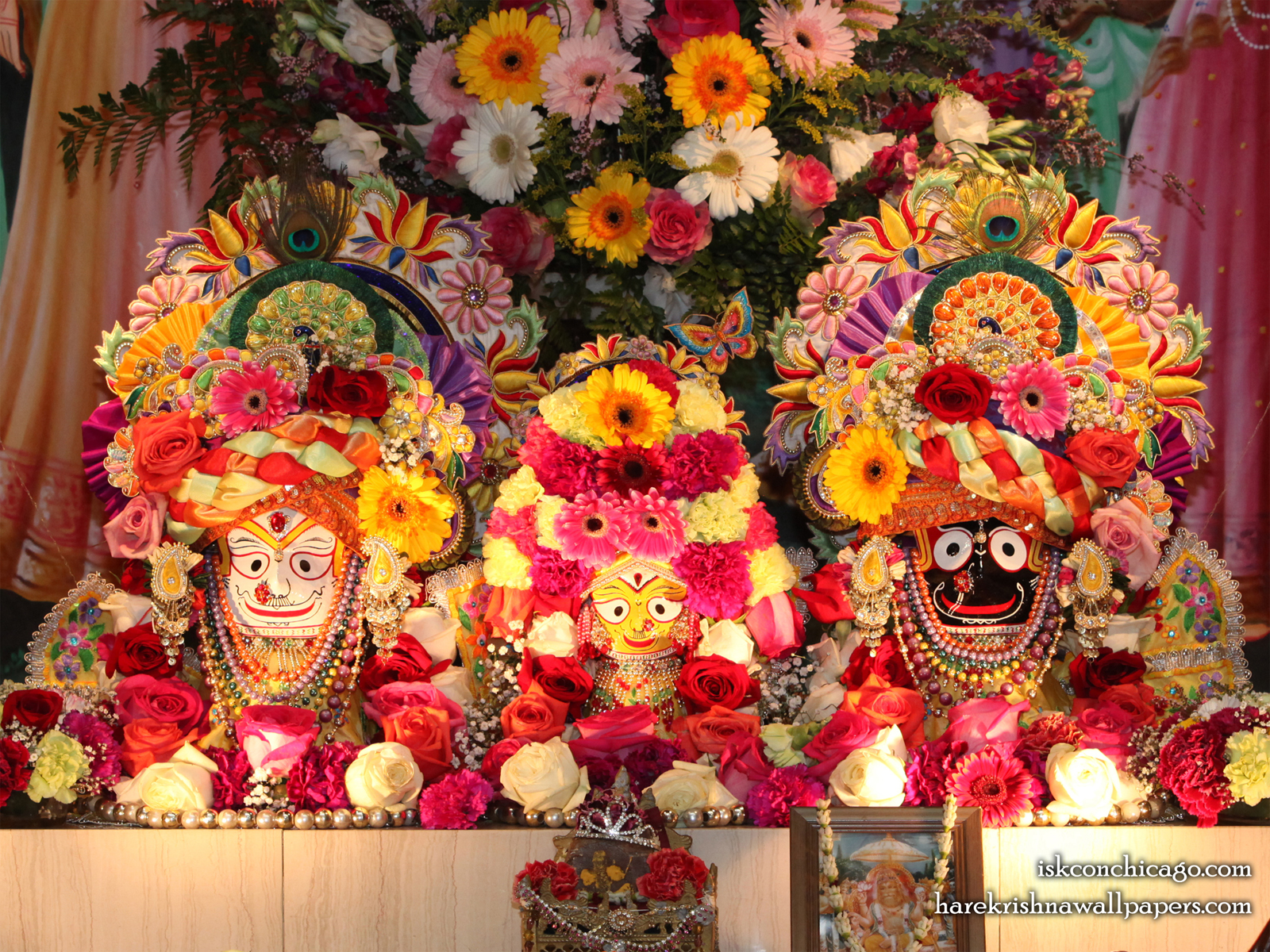 Jagannath Baladeva Subhadra Wallpaper (003) Size1600x1200 Download