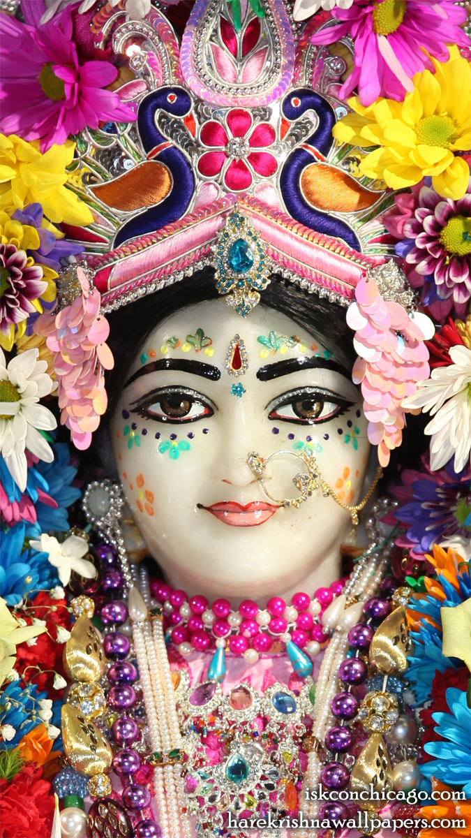 Sri Kishori Close up Wallpaper (003) Size 675x1200 Download