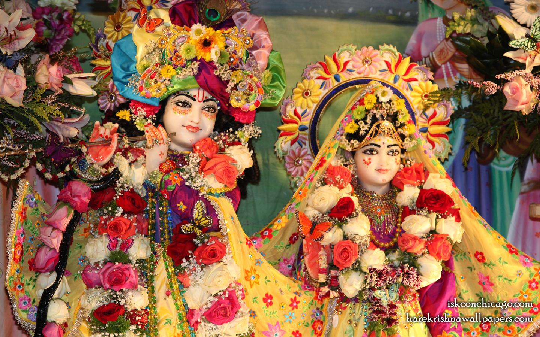 Sri Sri Kishore Kishori Close up Wallpaper (003) Size 1440x900 Download