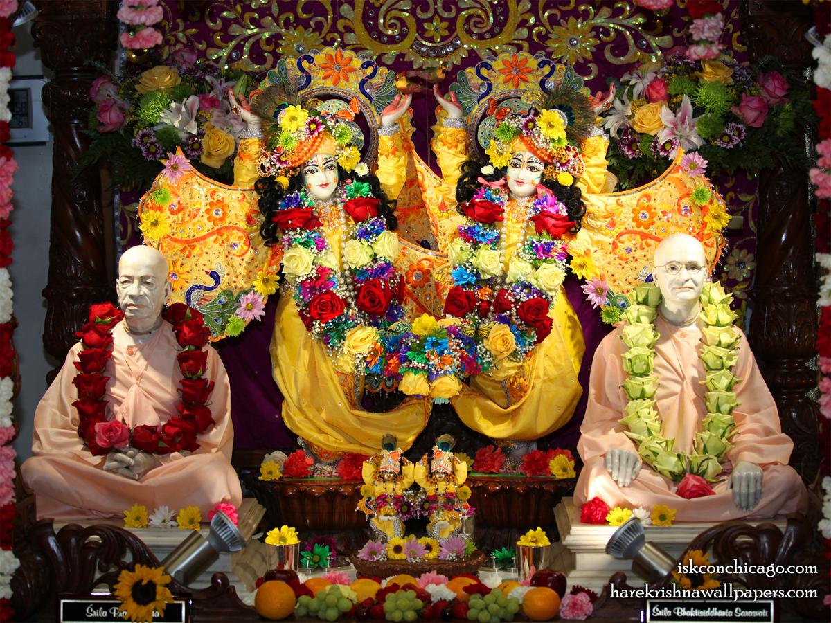 Sri Sri Gaura Nitai with Acharyas Wallpaper (004) Size1200x900 Download