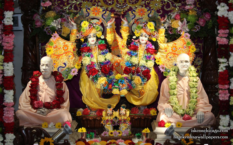 Sri Sri Gaura Nitai with Acharyas Wallpaper (004) Size 1440x900 Download