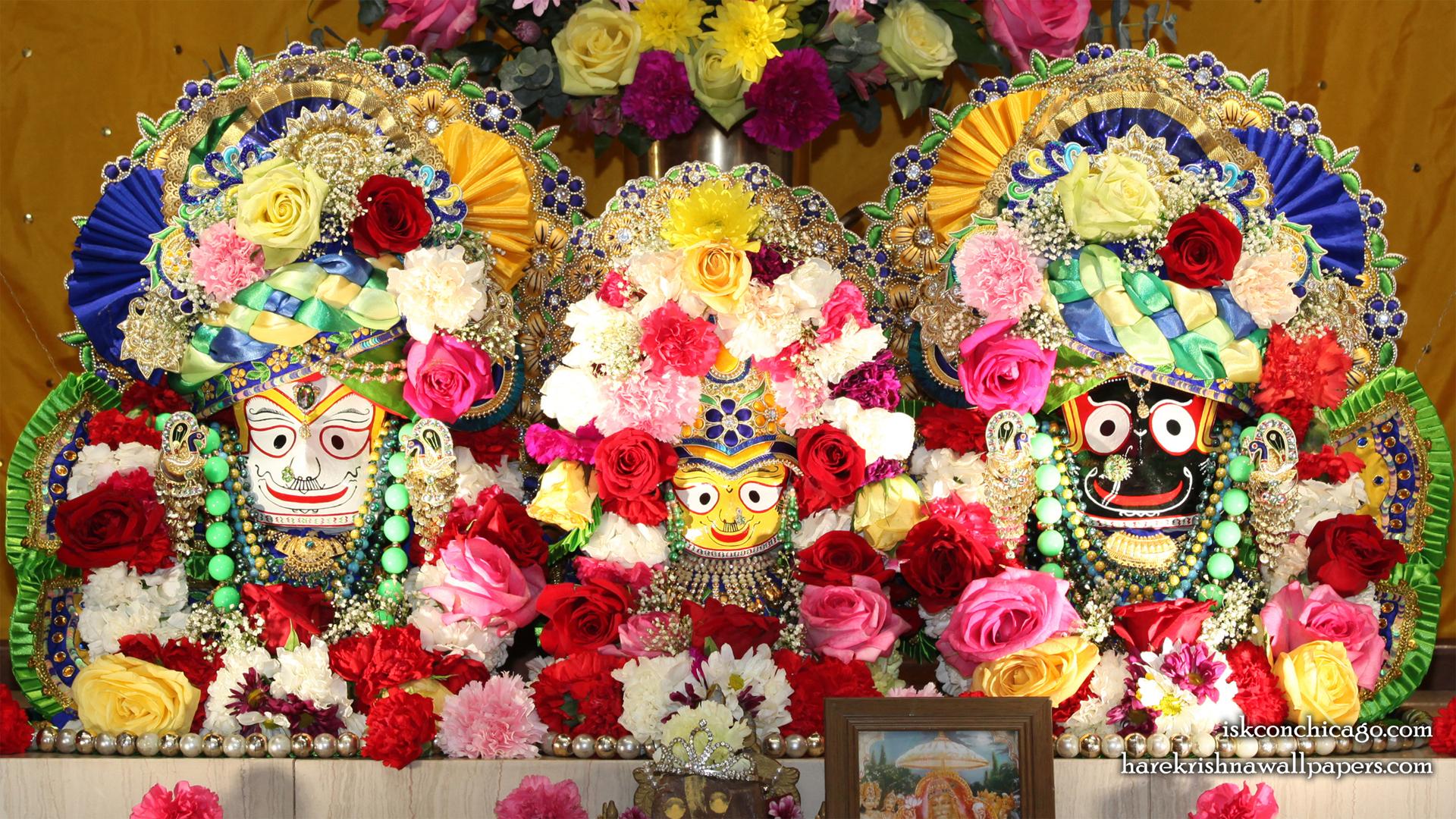 Jagannath Baladeva Subhadra Wallpaper (005) Size 1920x1080 Download