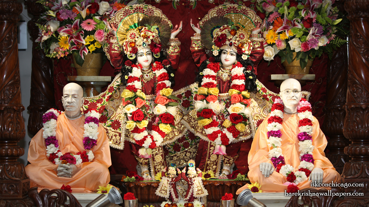 Sri Sri Gaura Nitai with Acharyas Wallpaper (005) Size1280x720 Download