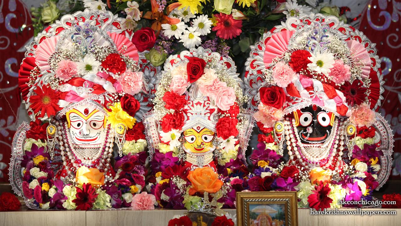 Jagannath Baladeva Subhadra Wallpaper (006) Size 1280x720 Download