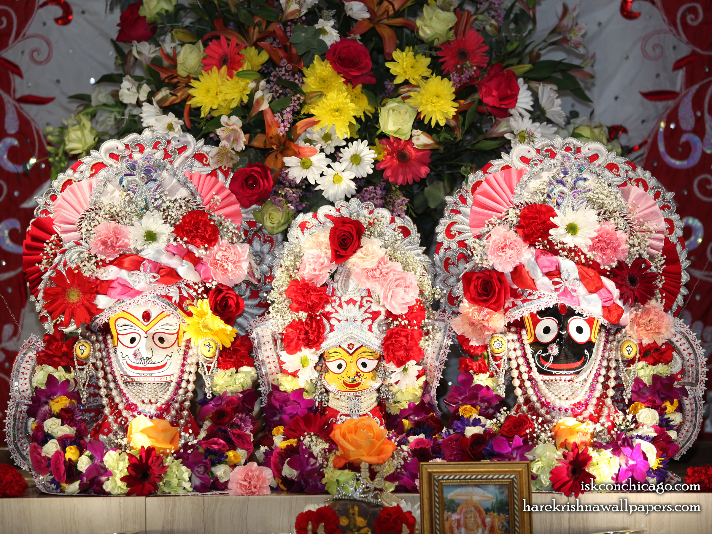 Jagannath Baladeva Subhadra Wallpaper (006) Size 2400x1800 Download