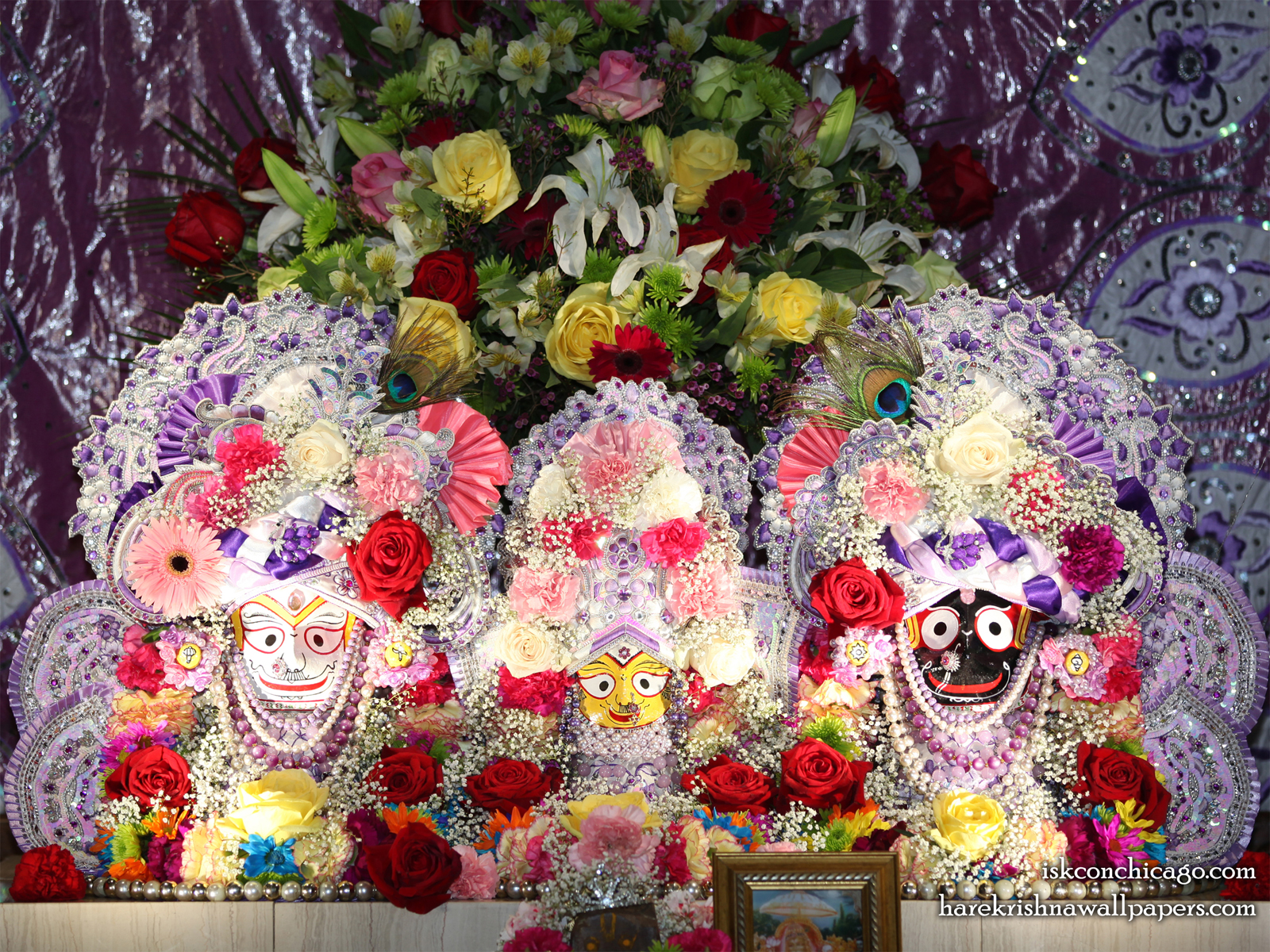 Jagannath Baladeva Subhadra Wallpaper (007) Size1600x1200 Download