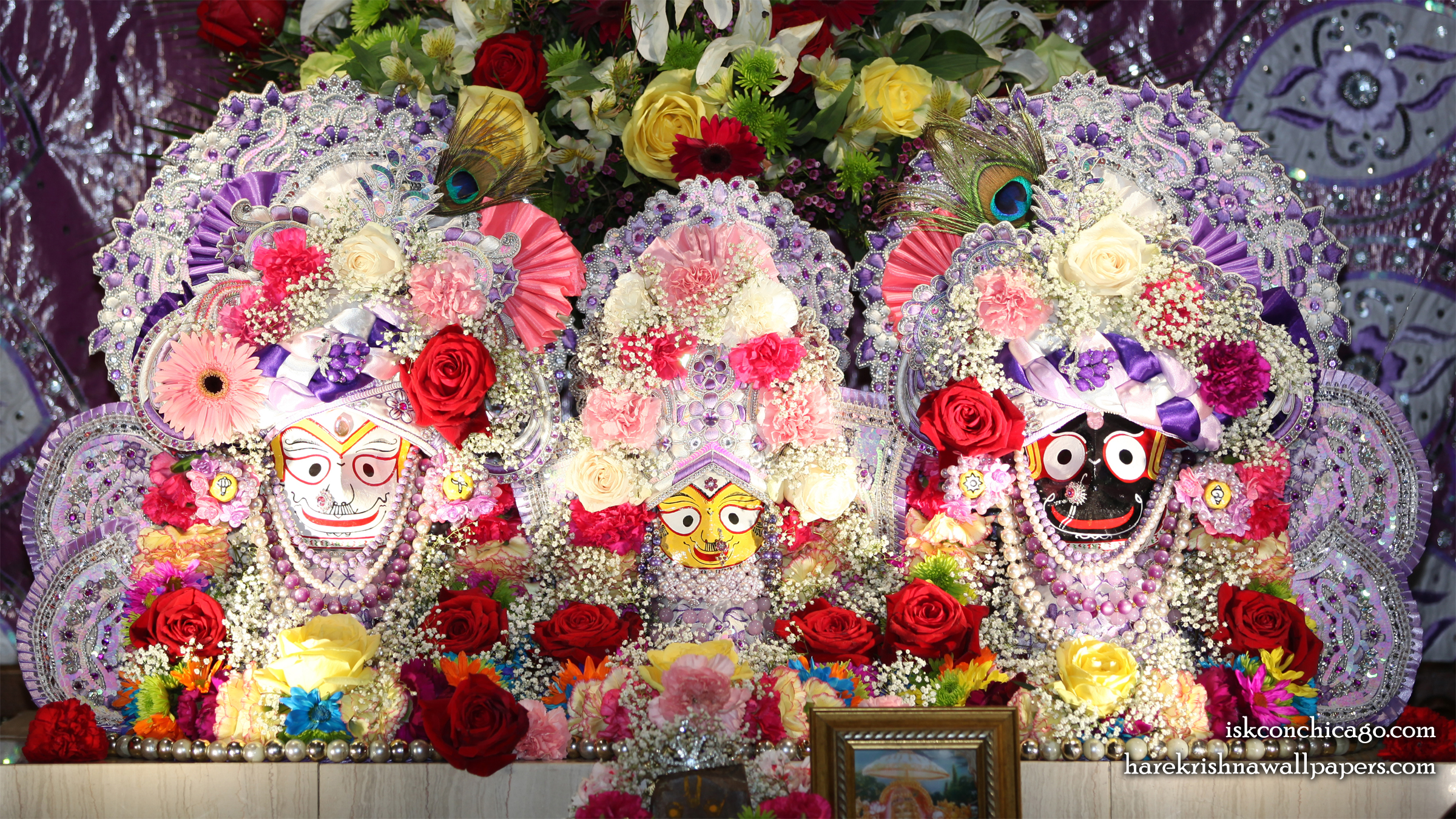 Jagannath Baladeva Subhadra Wallpaper (007) Size 2400x1350 Download