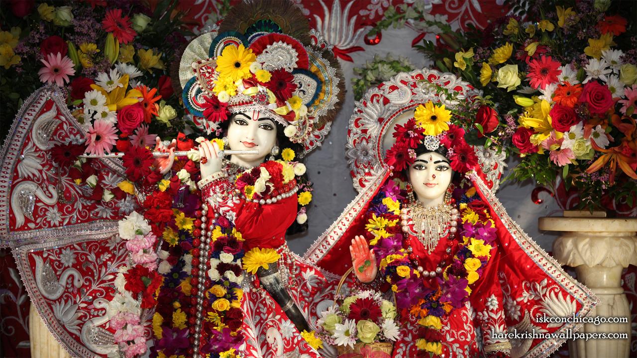 Sri Sri Kishore Kishori Close up Wallpaper (008) Size 1280x720 Download