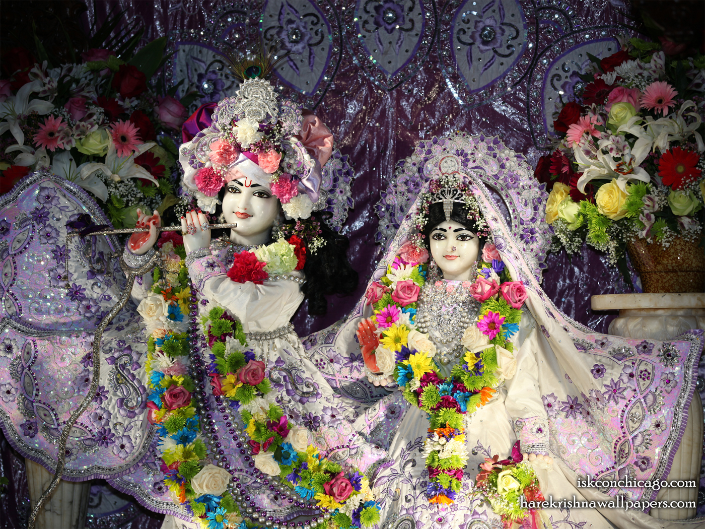 Sri Sri Kishore Kishori Close up Wallpaper (012) Size 1400x1050 Download