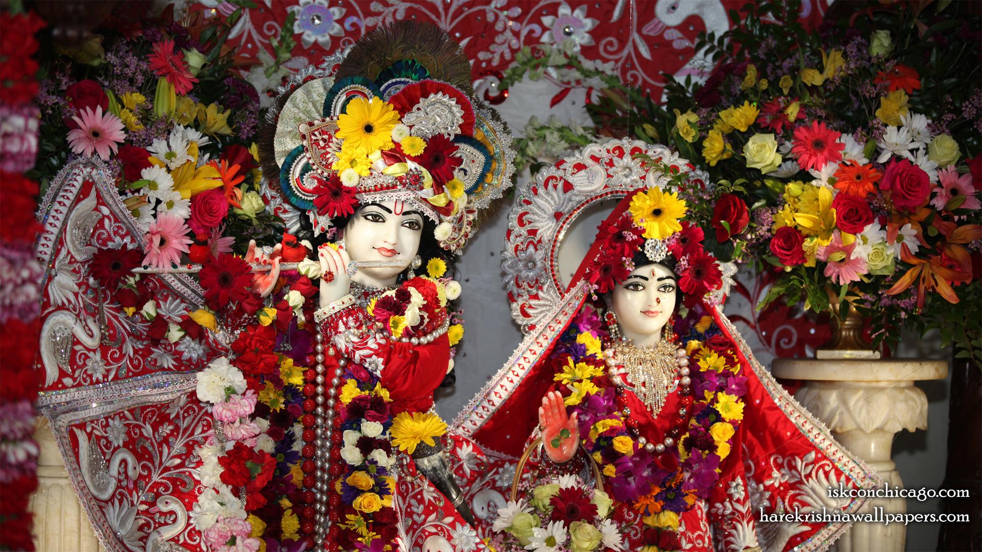 Sri Sri Kishore Kishori Close up Wallpaper (013) Size 1920x1080 Download