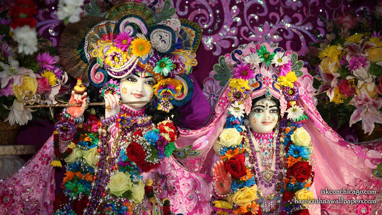 Sri Sri Kishore Kishori Close up Wallpaper (017) Size 1600x900 Download