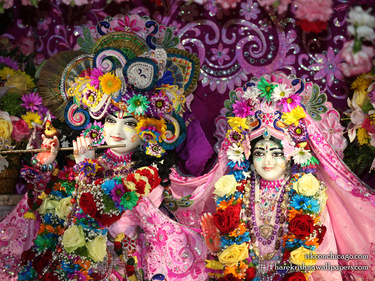 Sri Sri Kishore Kishori Close up Wallpaper (018) Size 1280x960 Download