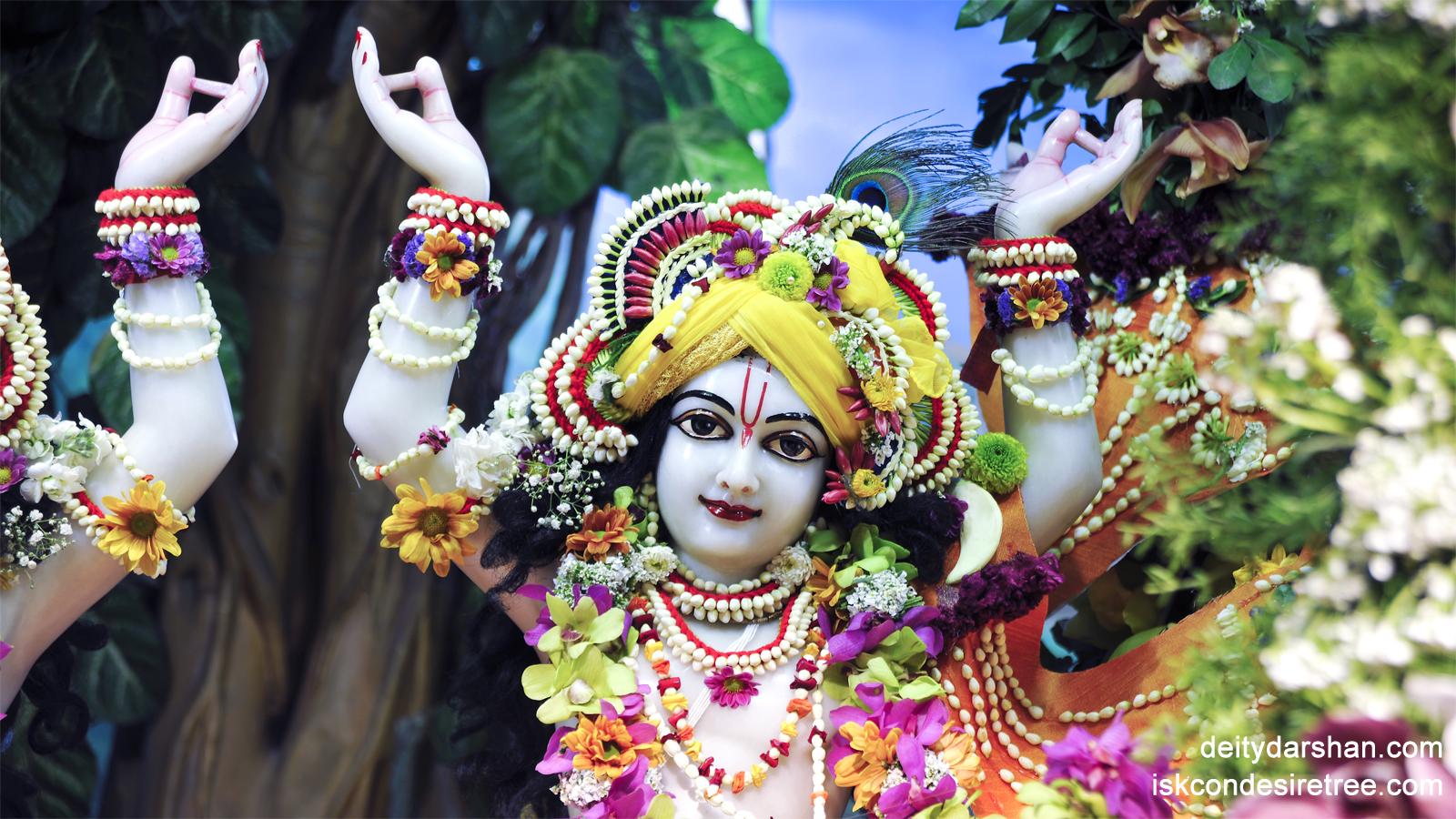 Sri Gaurachandra Close up Wallpaper (001) Size 1600x900 Download