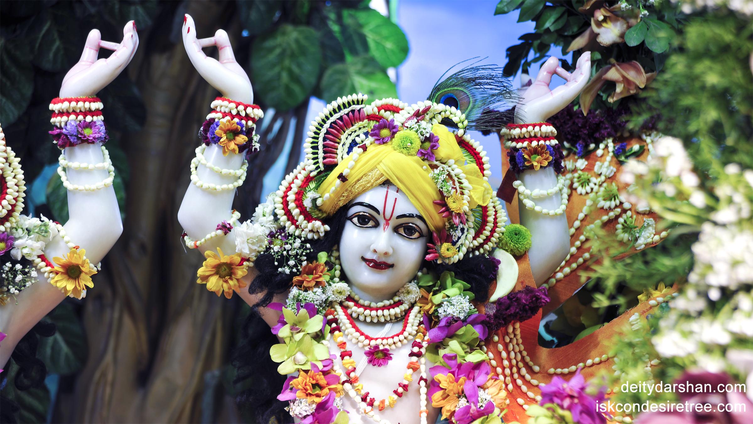 Sri Gaurachandra Close up Wallpaper (001) Size 2400x1350 Download