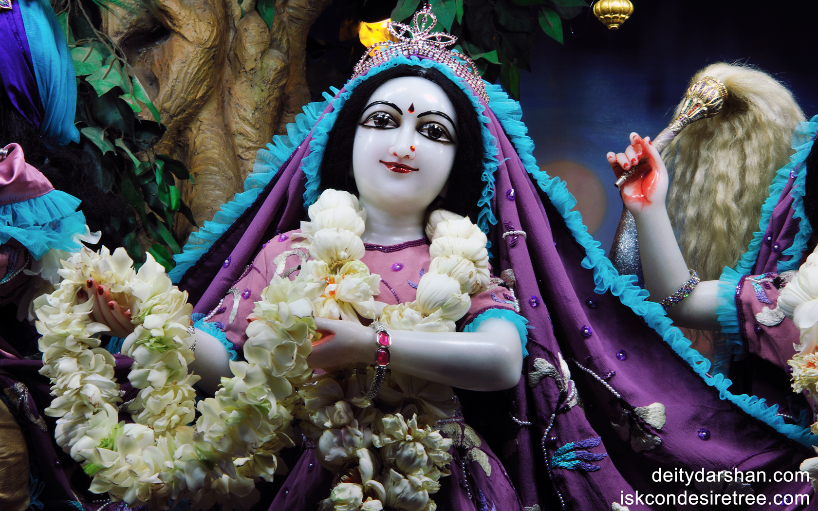 Srimati Radharani Close up Wallpaper (001) Size1680x1050 Download