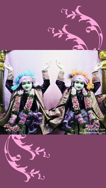 Sri Sri Nitai Gaurachandra Close up Wallpaper (001) Size 450x800 Download