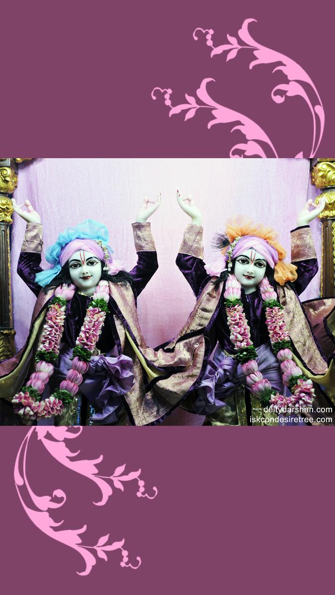 Sri Sri Nitai Gaurachandra Close up Wallpaper (001) Size 675x1200 Download