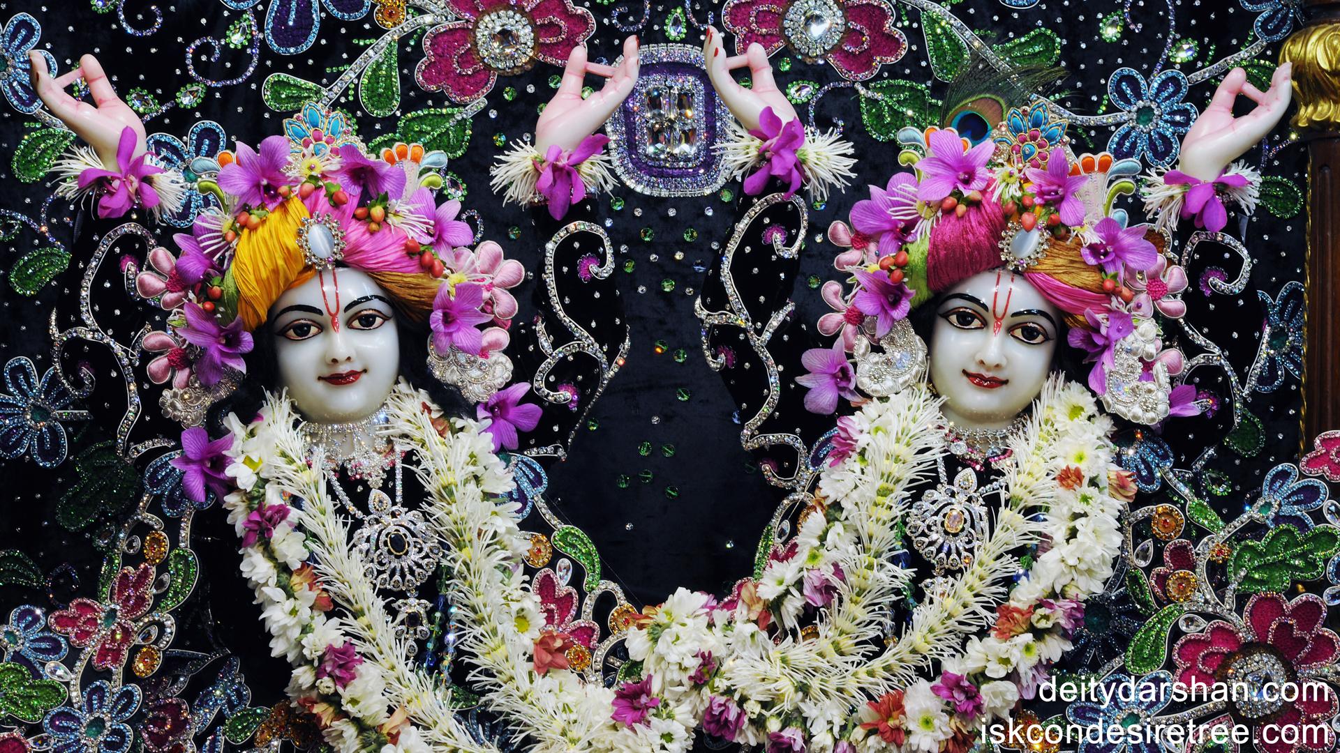 Sri Sri Nitai Gaurachandra Close up Wallpaper (003) Size 1920x1080 Download