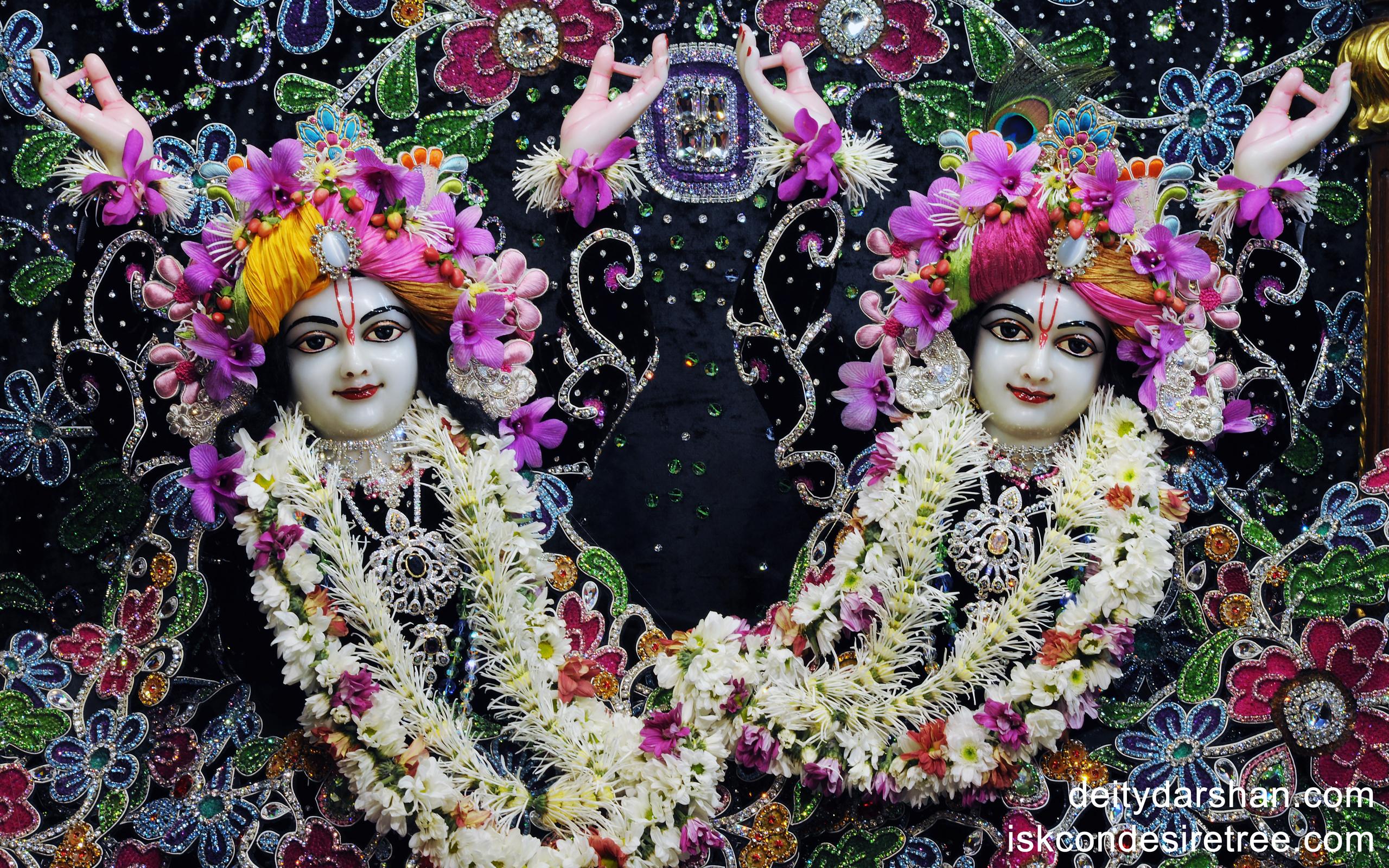 Sri Sri Nitai Gaurachandra Close up Wallpaper (003) Size 2560x1600 Download