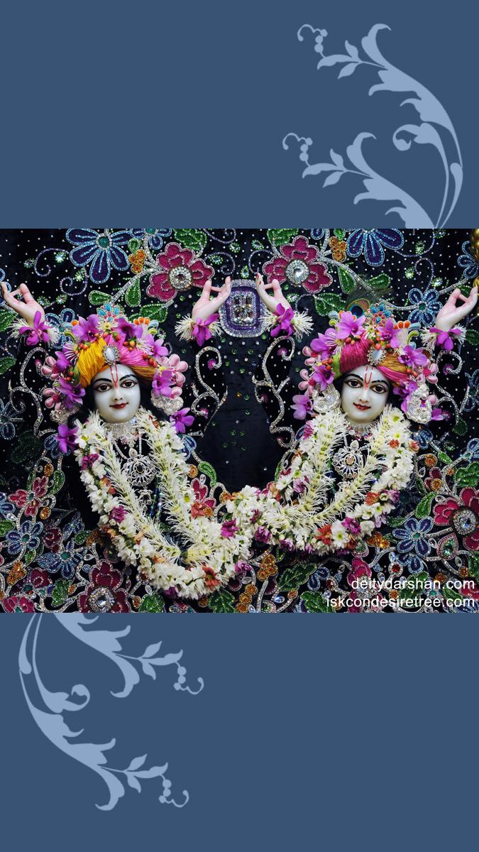 Sri Sri Nitai Gaurachandra Close up Wallpaper (003) Size 675x1200 Download