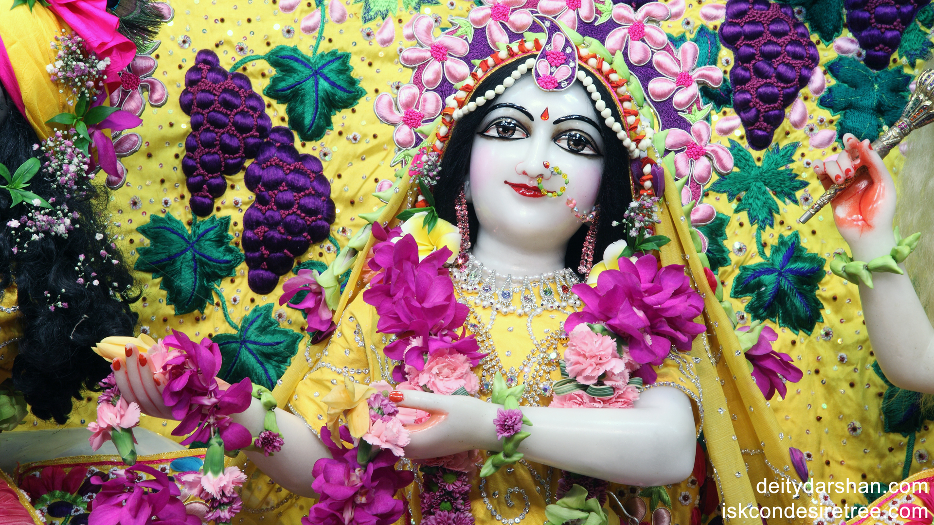 Srimati Radharani Close up Wallpaper (004) Size 1920x1080 Download